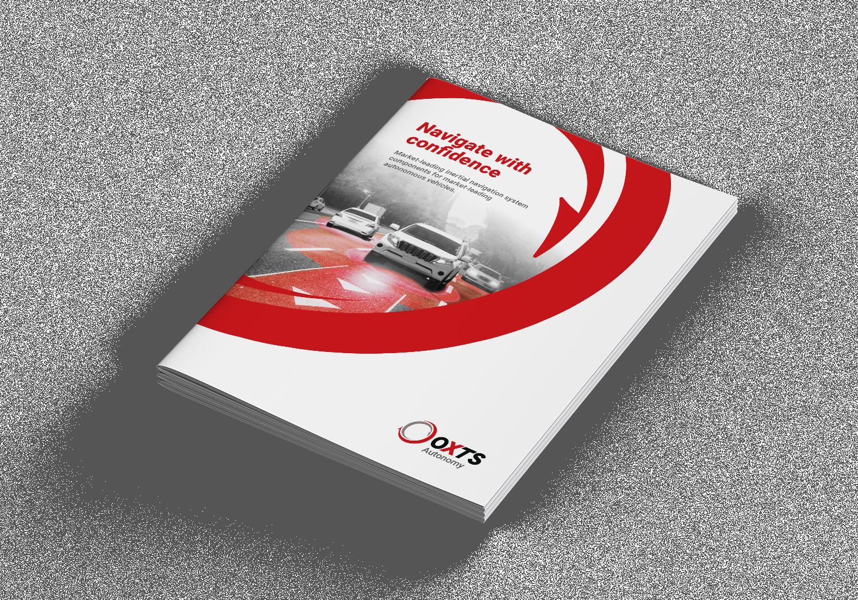 OxTS Autonomy Brochure cover